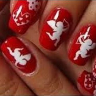 st valentine days nails 2018 foto (1)