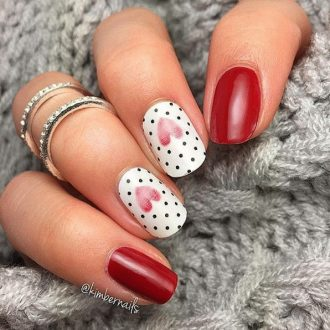 st valentine days nails 2018 foto (10)