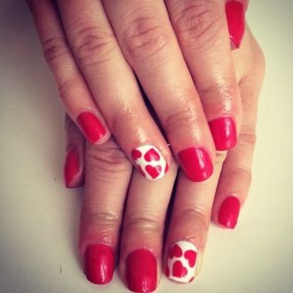 st valentine days nails 2018 foto (14)