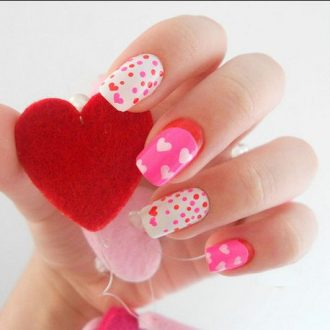 st valentine days nails 2018 foto (4)