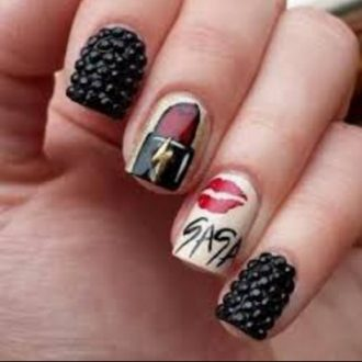 st valentine days nails 2018 foto (5)