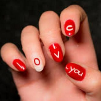 st valentine days nails 2018 foto (6)