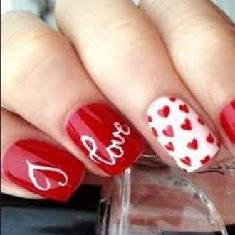st valentine days nails 2018 foto (7)